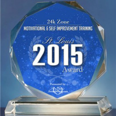 2015 St. Louis Award in the Motivational & Self Improvement Training